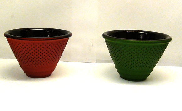 Cast iron 100ml cup, 4 color choices