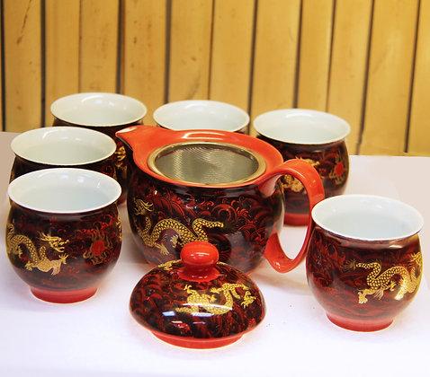 Red dragon no tray
