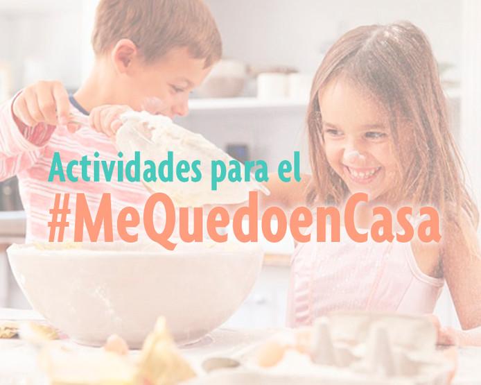 Actividades para #MeQuedoenCasa