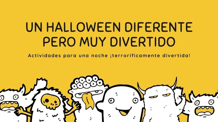 Un Halloween diferente pero muy divertido