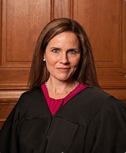 Controversial Confirmation Amy Coney Barrett Associate Justice of the Supreme Court of the USA