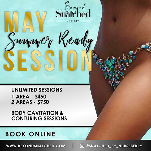 May Summer Ready Unlimited Sessions