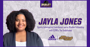PVAMU'S JONES EARNS RHODEN FELLOWSHIP WITH ESPN'S THE UNDEFEATED