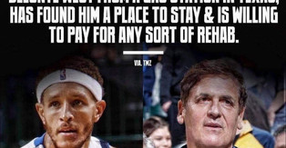 Mark Cuban Picked up Former Maverick Delonte West from a Gas Station...