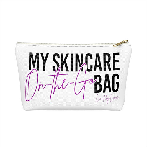 On-the-Go Skincare Bag