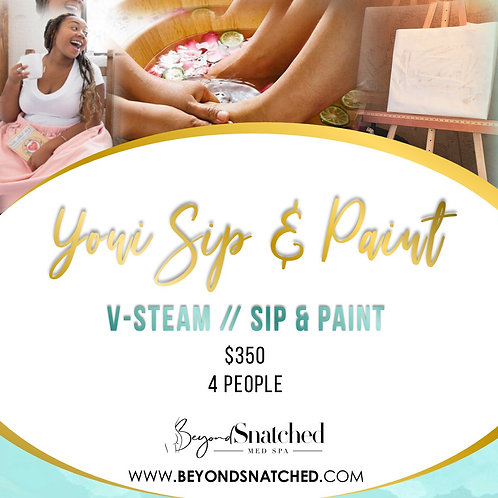 Ultimate Yoni Sip & Paint Party