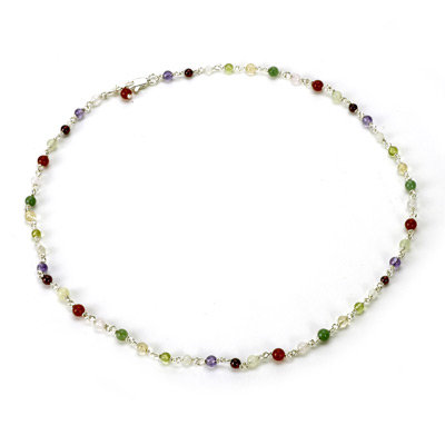Rainbow Strand Necklace