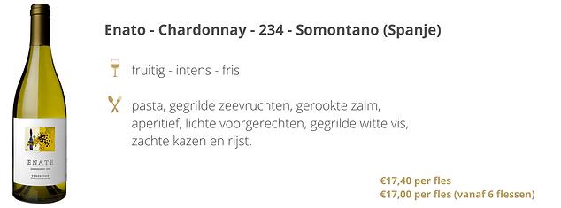 Enato - Chardonnay - 234 - Somontano (Sp