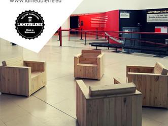 De nouveaux mobiliers au Mémorial de Caen