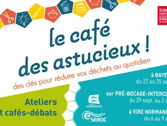 """L'Ameublerie participe au """"Café des Astucieux"""" avec le Séroc"""