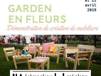 Mobiliers et animations au Garden en Fleurs de Cabourg !