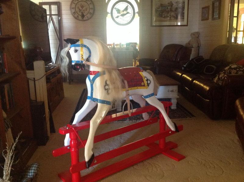 1954 Roebuck Rocking Horse After
