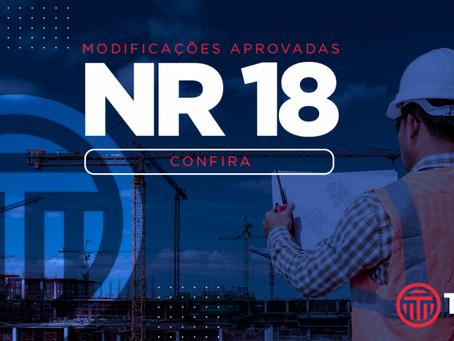 CPN aprova modificações na NR 18
