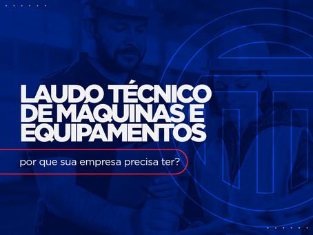 Laudo Técnico de Máquinas e Equipamentos