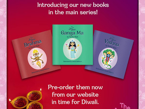 Pre-order 3 Book Collection (Brahma, Vishnu, Ganga Ma)