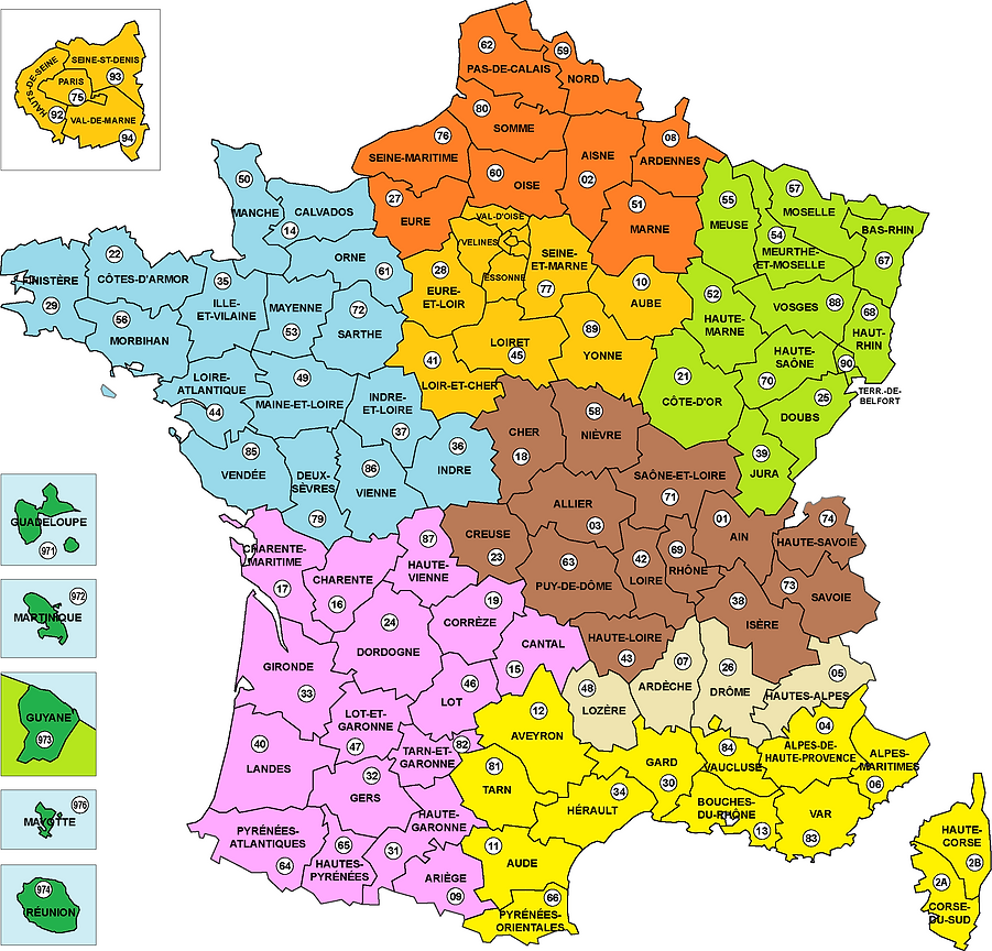Carte_FRANCE_Sept2020_Departements_Coule