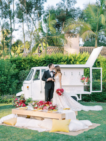 Rancho Valencia Wedding