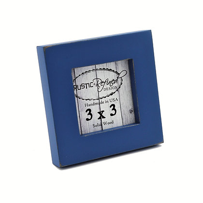 "3x3 1"" Gallery Picture Frame - Colonial Blue"