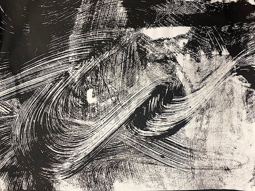 Acrylic drawing #10 on Strathmore Sketch Paper