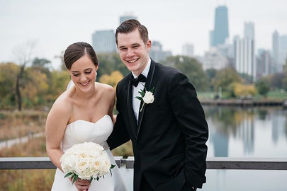We LOVE seeing our brides in candid moments in front of the city we adore. Kyla looks amazing in this Robert Bullock gown.jpg