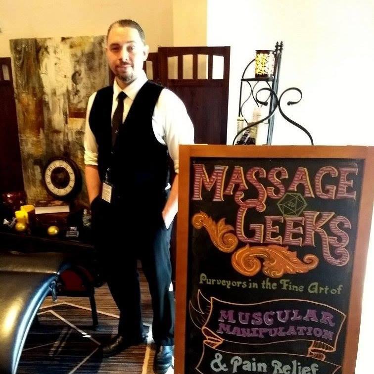 Daniel - Chair Massage
