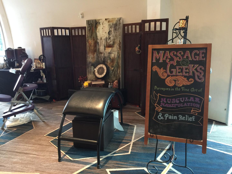 Massage Geeks Chair Massage