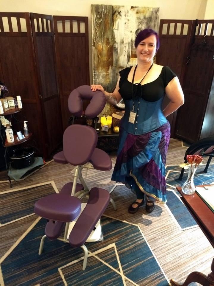 Aislinn - Chair Massage