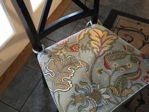 Fix It Friday - Chair Cushion Ties
