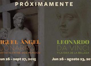 Da Vinci y Miguel Ángel, sin precedentes, en Bellas Artes