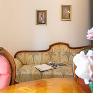 Esszimmer im Heritage Boutique Apartment Nr. 4 Adele