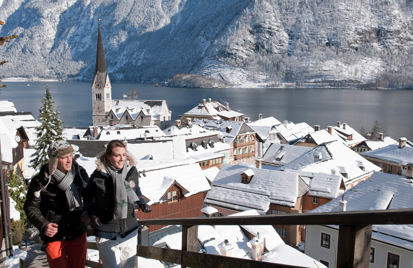 Hallstatt im Winter © salzkammergut.at