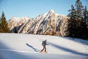Skitour auf der Postalm © salzkammergut.at