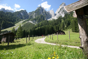 Landschaft mit Dachstein © salzkammergut.at