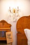 Bett - Detail, Heritage Boutique Apartment Adele