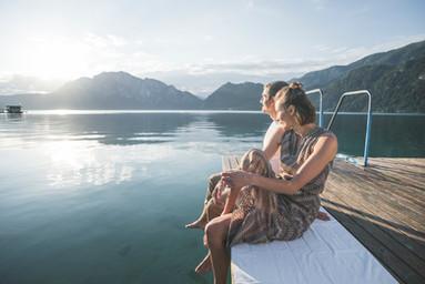 Entspannen am Wasser © salzkammergut.at