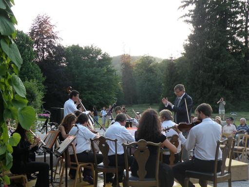 Kurmusik im Kaiserpark © badischl.at