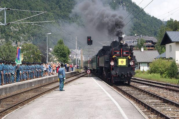 Der Kaiserzug erreicht Bad Ischl © badischl.at