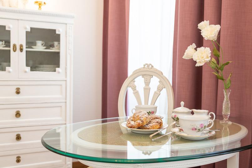 gedeckter Tisch, Heritage Boutique Apartment Sophie