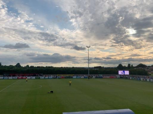 Match Report: Melksham Town v Swindon Town