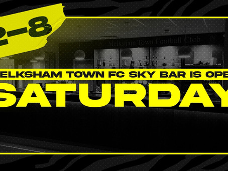 Sky Bar open on Saturday 4th July