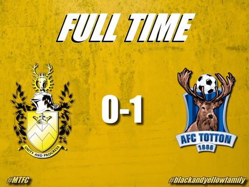 Match Report: Melksham Town v AFC Totton