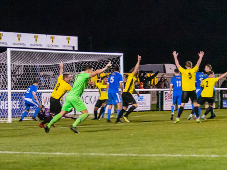 Match report- V AFC Totton