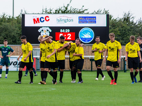 Melksham Town 6 v 3 Slimbridge