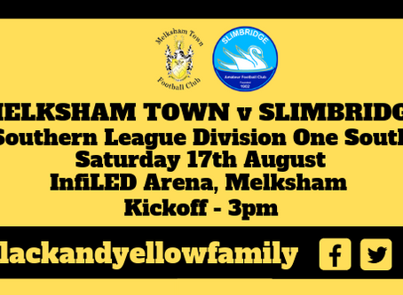 First League Game- Melksham Town V Slimbridge