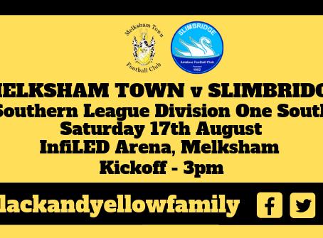 First League Game- Melksham Town V Slimbridge