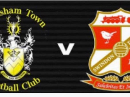 Swindon Town FC friendly tickets now available online
