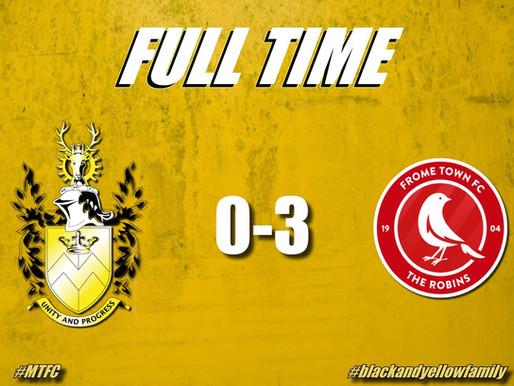 Match Report: Melksham Town V Frome Town