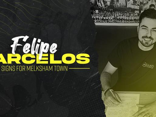 Melksham Town FC sign Felipe Barcelos
