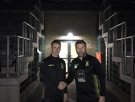 New signing- Steve Murray