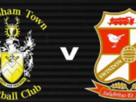 Pre-Season Friendly v Swindon Town FC- 9th July